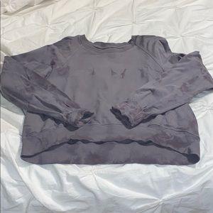 Lululemon its a wash shibori sweatshirt tye die